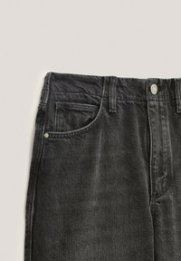 Massimo Dutti - Straight leg jeans - black - 4