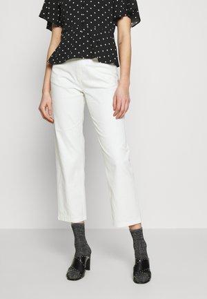 SHELBY - Straight leg jeans - cream