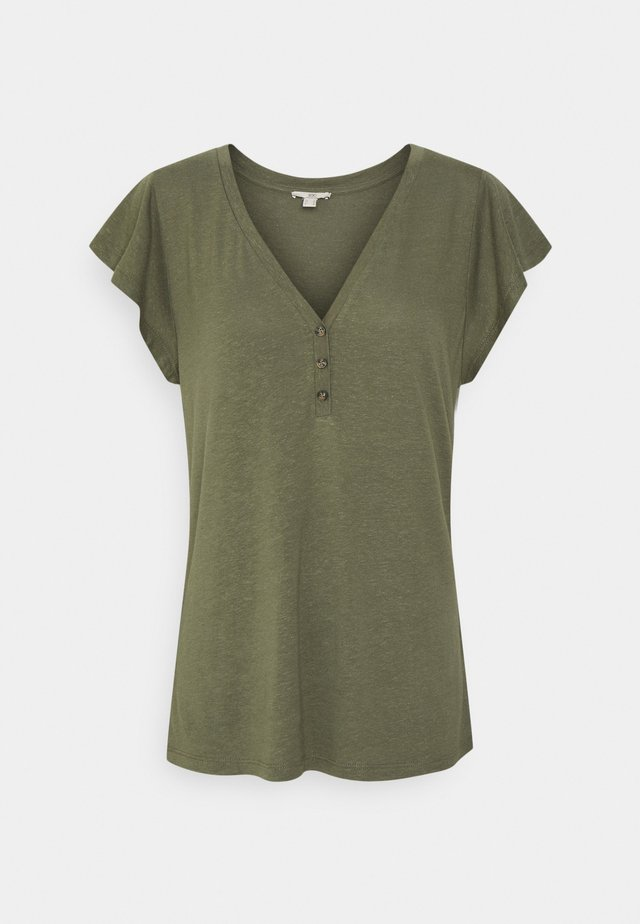 T-shirt basic - khaki green