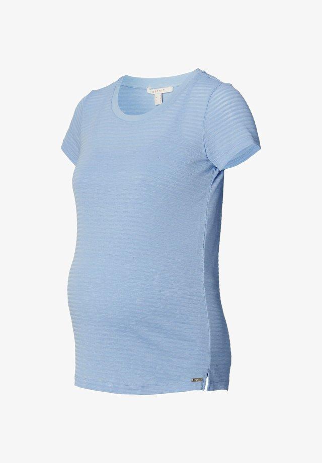 MIT STILLFUNKTION - T-shirt print - light blue