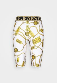 Versace Jeans Couture - BIKER - Shorts - white - 5