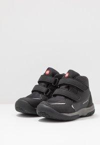 Pax - UNISEX - Hiking shoes - black - 3