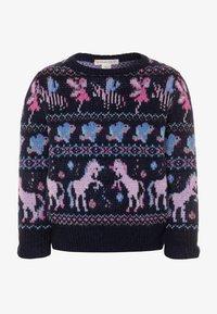 J.CREW - FAIRY FAIRISLE - Pullover - navy/lilac/multicolor - 0