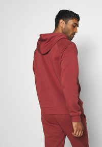 Under Armour - RIVAL MULTILOGO - Hoodie - cinna red/onyx white - 2