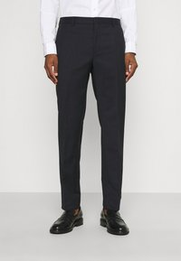 Calvin Klein Tailored - TONAL GRID CHECK EXTRAFINE SUIT - Suit - navy - 3