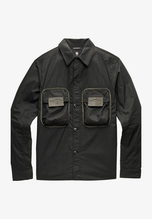 ARMY 2 POCKET RELAXED - Camicia - dk black