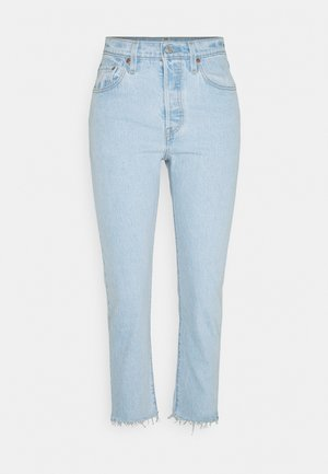 501 CROP - Straight leg jeans - samba goal