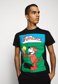 Fiorucci - MEN'S ICE CREAM TEE - Camiseta estampada - black - 3