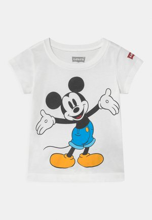 MICKEY MOUSE HAPPY  - Print T-shirt - white