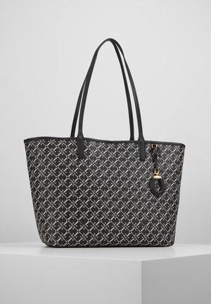 COATED COLLINS - Torba na zakupy - black heritage