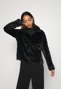 Vila - VIALIBA JACKET - Winter jacket - black - 0