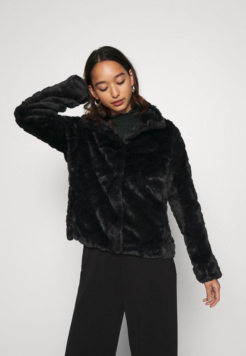 Vila - VIALIBA JACKET - Winter jacket - black