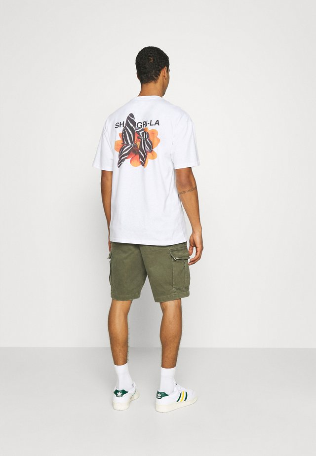SHANGRILA BUTTERFLIES UNISEX - Print T-shirt - white