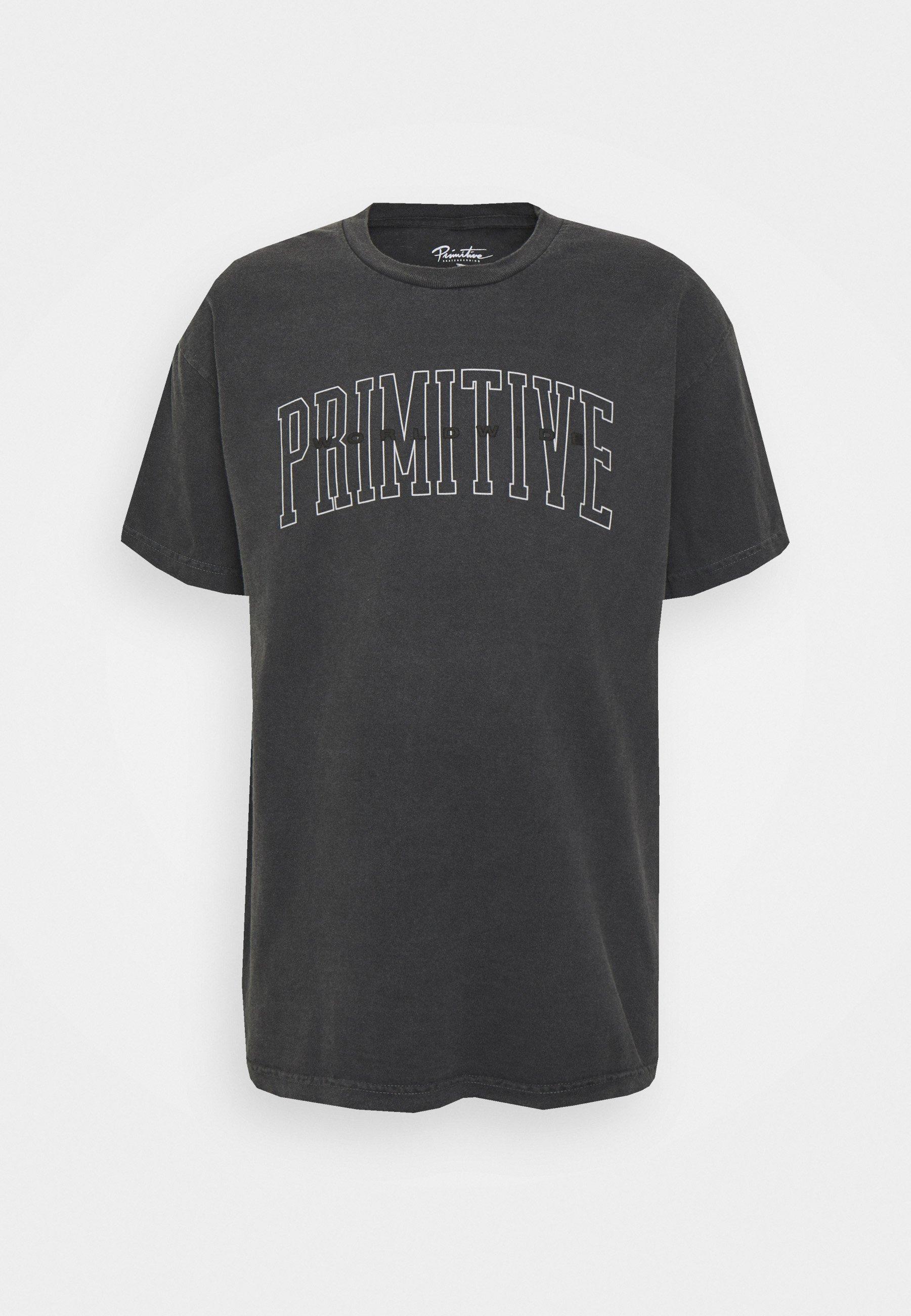 Men COLLEGIATE WORLDWIDE PYGMENT DYED TEE - Print T-shirt