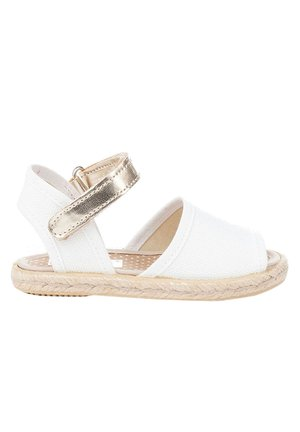 Sandalias tobilleras - blanco