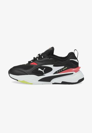 FAST - Trainers - black black fiery coral