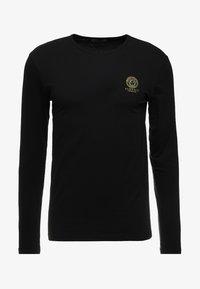 Versace - GIROCOLLO - Haut de pyjama - black - 3