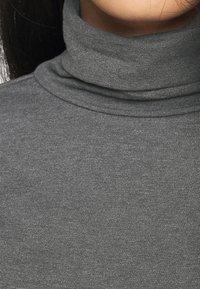 Anna Field - Top sdlouhým rukávem - mottled grey - 5