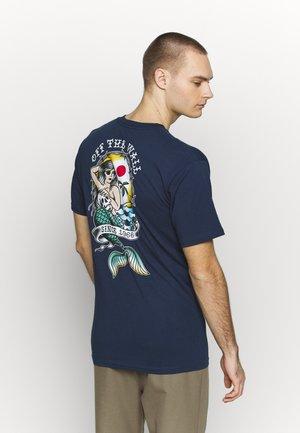 MERMAID  - T-shirt z nadrukiem - dress blues