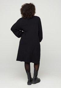 Zizzi - Shift dress - black - 2