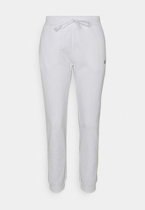 CUFF PANTS - Spodnie treningowe - white