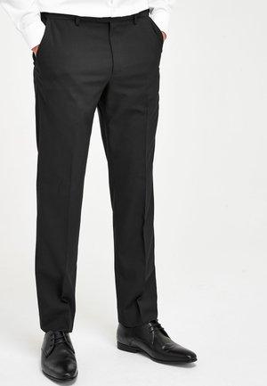 Suit trousers - black