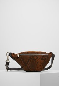 DEPECHE - ANIMAL CHIC - Bum bag - cognac - 0