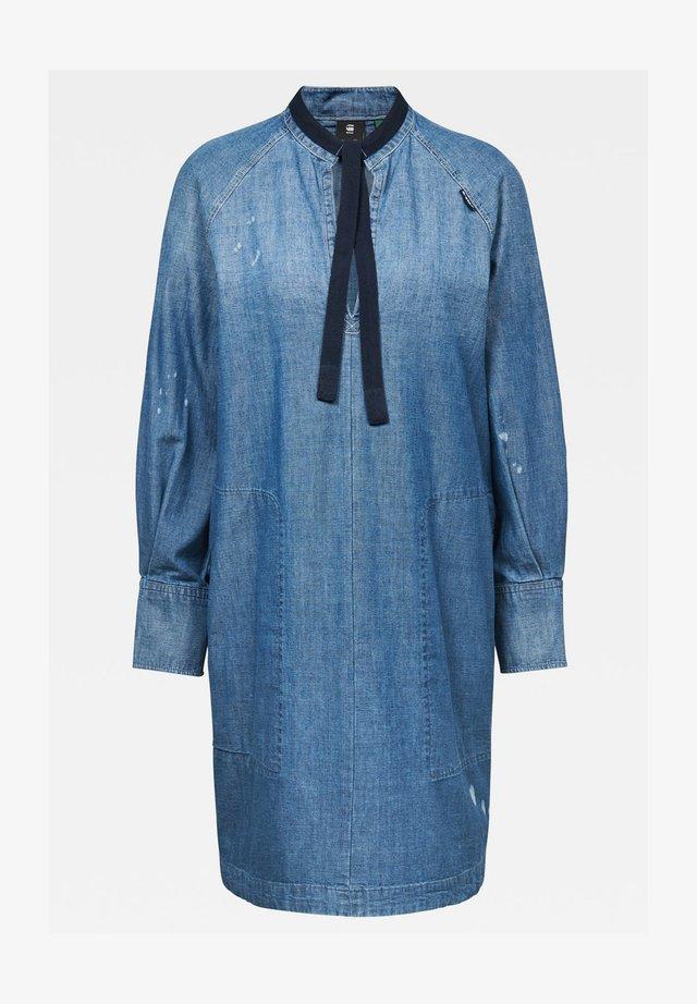 Spijkerjurk - faded aegean blue