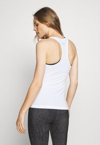 Casall - CLASSIC RACERBACK - Top - white - 2