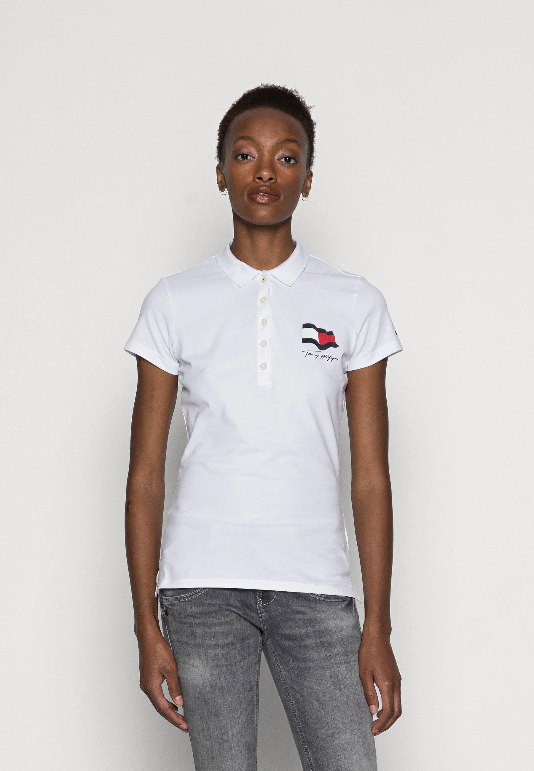Women ABO MOTION FLAG - Polo shirt