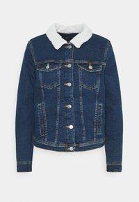 ONLY - ONLTIA JACKET BEST - Denim jacket - medium blue denim - 0