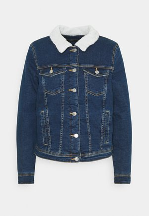 ONLTIA JACKET BEST - Cowboyjakker - medium blue denim