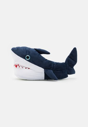 SHARK - Slippers - navy