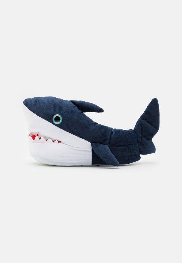 SHARK - Pantuflas - navy