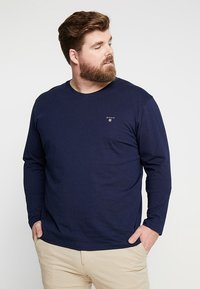 GANT - THE ORIGINAL - Långärmad tröja - evening blue - 0