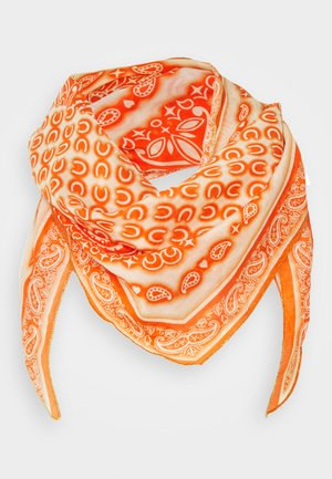 PAISLEY EDGED SHAPE - Huivi - orange