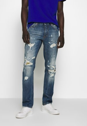 PANTS 5 POCKETS - Jeans slim fit - blue denim