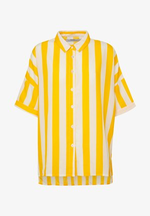 SHORT SLEEVE NIBE BIG STRIPES - Paitapusero - yellow