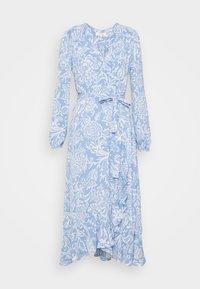 Marks & Spencer London - PAISLEY BUT DRESS - Vestido informal - light blue - 0