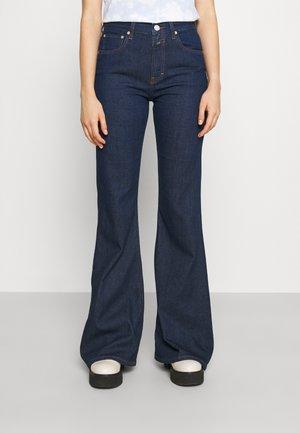 RAWLIN - Flared Jeans - dark blue