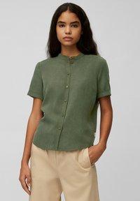 Marc O'Polo DENIM - Button-down blouse - deep depth - 0