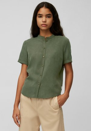 Button-down blouse - deep depth