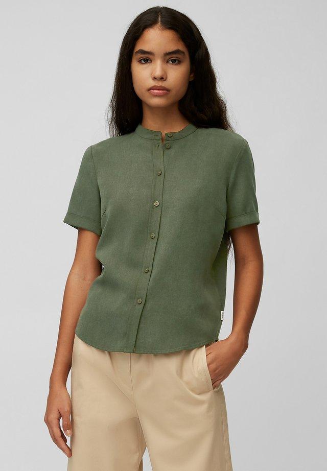 Button-down blouse - deep depth