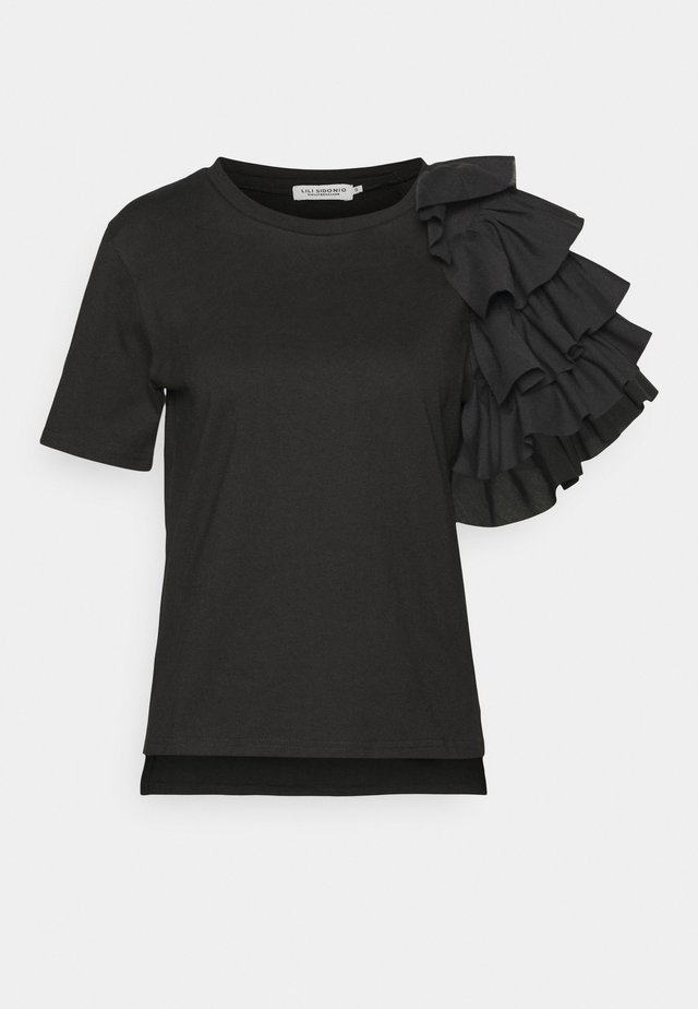 YOUNG LADIES TEE - T-shirt con stampa - black