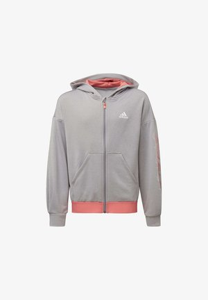 UP2MV AEROREADY LOOSE HOODIE - Zip-up hoodie - grey