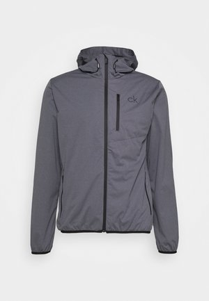 ULTRON HOODED JACKET - Outdoor jacket - grey marl