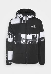EA7 Emporio Armani - BLOUSON - Light jacket - black - 0