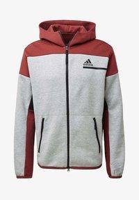 adidas Performance - Zip-up hoodie - grey - 7
