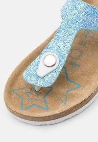TOM TAILOR - T-bar sandals - blue - 5