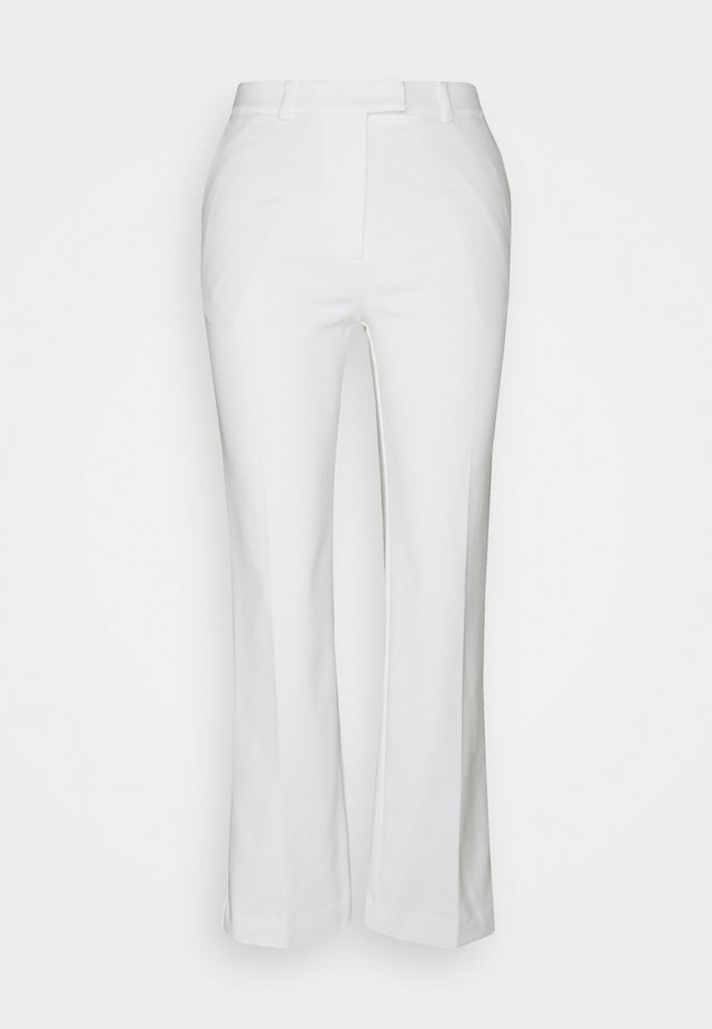 NOORA - Pantalon classique - star white